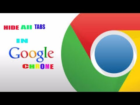 How to close all tabs with panic button in chrome hindi urdu