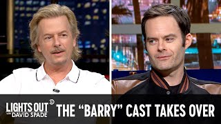 """Bill Hader and the Cast of """"Barry"""" Take Over - Lights Out with David Spade"""