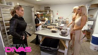 Lana takes Maryse and Natalya wedding cake tasting: Total Divas, Jan. 11, 2017