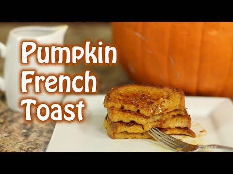 Make Pumpkin French Toast - A Step By Step Tutorial | Rockin Robin Cooks
