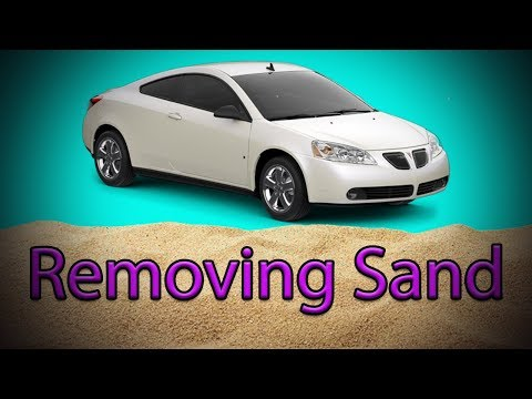 Removing Sand Out Of Your Car EASY!!!