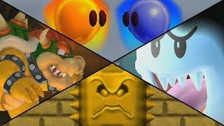 New Super Mario Bros DS Walkthrough Part 6 World 6,2K0EH