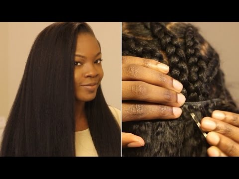 How to Put in a Sew In Weave on Yourself: Most Natural Looking