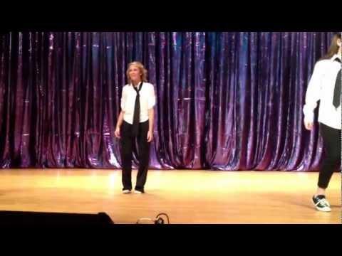 Smyrna High School Drama Department Dancing to Michael Jackson