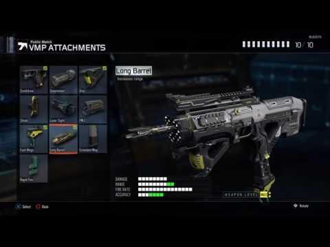 Best Vmp Class Setup Call Of Duty Black Ops 3
