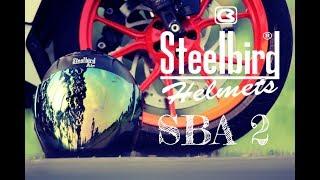 Steelbird SBA 2 Helmet | SBA 2 | Unboxing | Full details that no one tell you