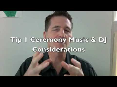 Best Wedding Ceremony Tips From Michigan Wedding DJ Dan Nichols