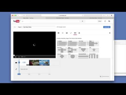 How to use the youtube editor to add an Intro or outro to your videos