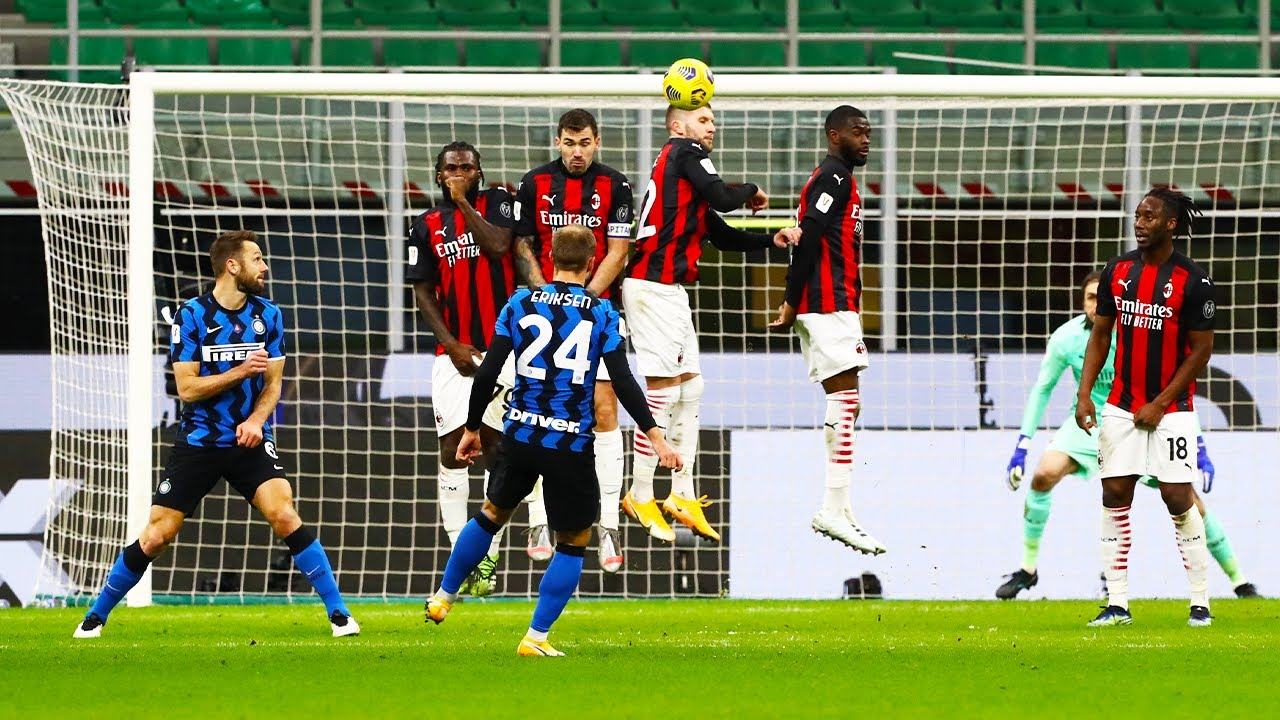 Tutti i Gol tra Inter e Milan dal 2012 ad oggi