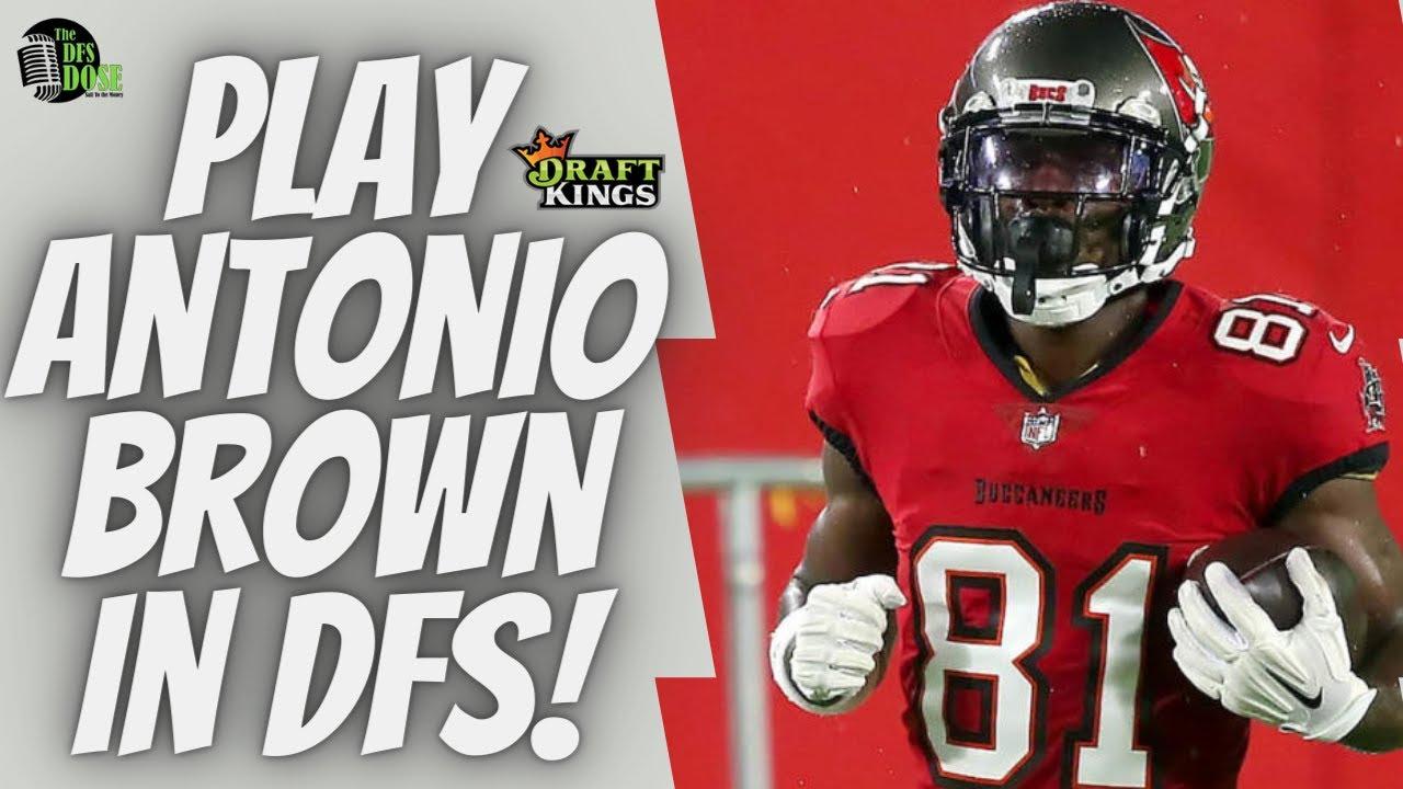 Should You Play Antonio Brown in NFL Week 12 DFS?!?