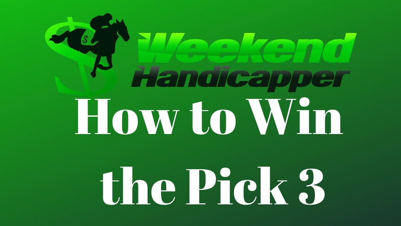 How to Win the Pick 3