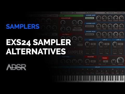 EXS24 Sampler Alternatives : Tal Sampler, Kontakt, Disco DSP Bliss, TX16Wx Sampler
