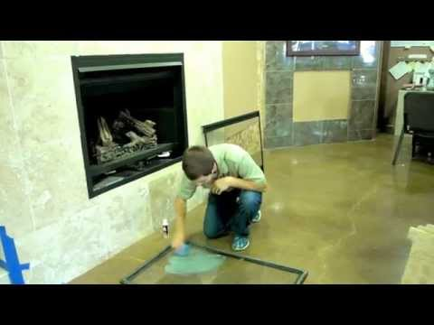 Cleaning Glass On A Gas Fireplace