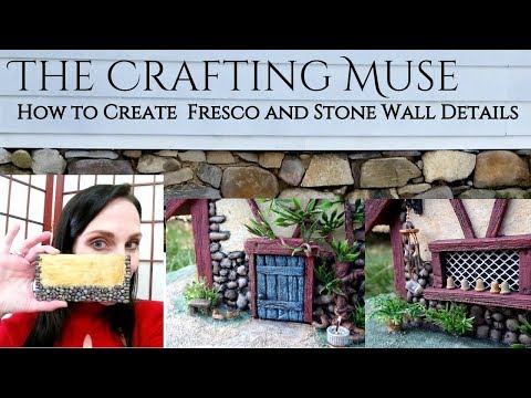 How to Make Fresco and Stone Walls in Miniature