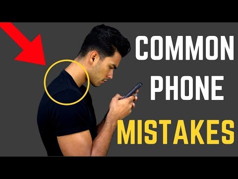 6 Mistakes You Make With Your PHONE You Need to STOP!