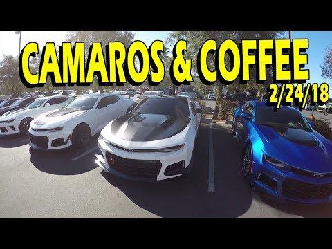 Camaros & Coffee SoCal | Feb 24th, 2018