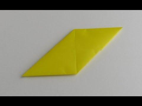 Origami Modular Sonobe Unit