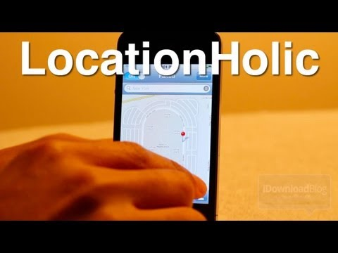 Fake Your iPhone's Location -- LocationHolic