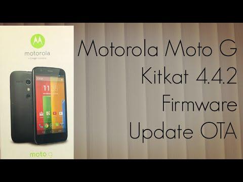 Motorola Moto G Kitkat 4.4.2 Firmware Update OTA - New Winter Themed Boot Animation