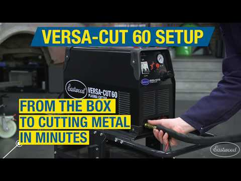 How to Set Up a Versa Cut 60! From the Box to Cutting Metal in Minutes! Eastwood
