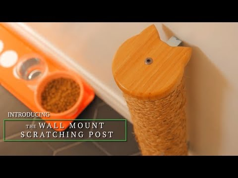 Wall Mounted Vertical Cat Scratching Post by Mountain Pet Products