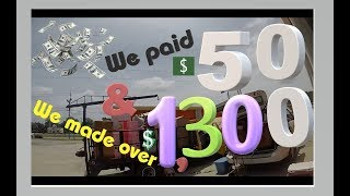 Unclaimed Storage Treasures: Units Lockers Auctions Videos how to turn $50 into $1,300 plus