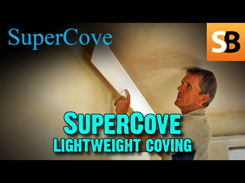 How to fit coving with  Supercove