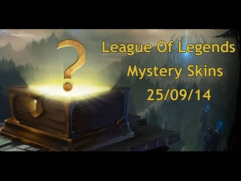 League Of Legends Mystery Skin 25/09/14