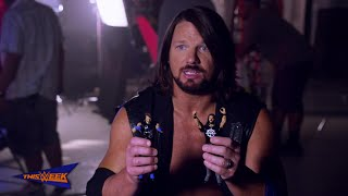 WWE Network: AJ Styles goes hands-on with Mattel