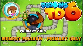 BLOONS TD 6 END OF THE ROAD MAP ON EASY BTD6 WALKTHROUGH