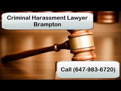 Criminal Harassment Lawyer Brampton | Call (647-983-6720)