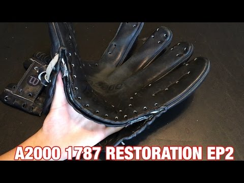 A2000 1787 Restoration EP2 | Unlacing + Looking Inside the Palm