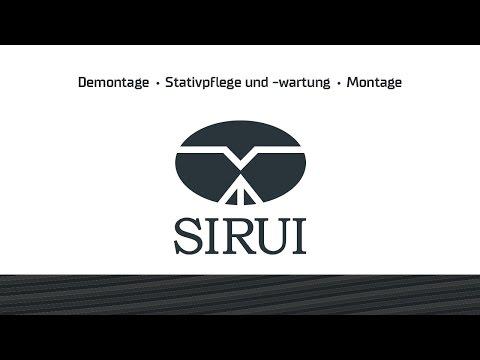 SIRUI Stativpflege - W-Serie | Cleaning a SIRUI Tripod - W series