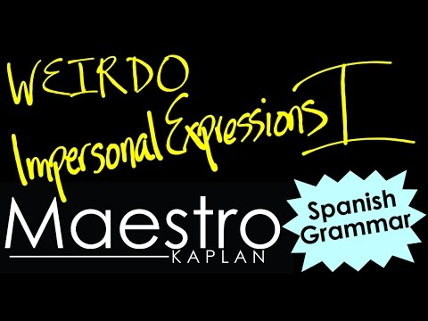 SUBJUNCTIVE with IMPERSONAL EXPRESSIONS (es bueno, es importante, etc) I