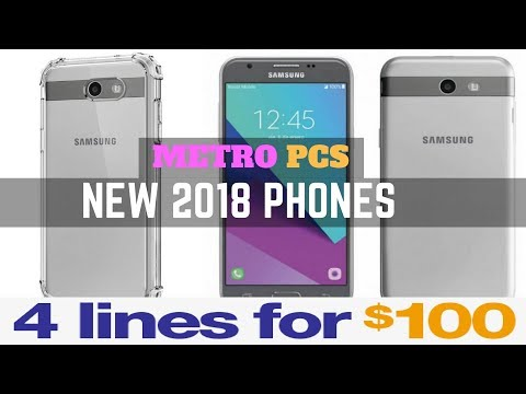 Samsung J7 BLACK  & J3 Prime SILVER - New 2018 MetroPCS Phones
