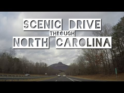 Let's Drive! - Scenic Drive from Raleigh, North Carolina to Virginia Border