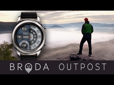 Broda Outpost for Samsung Gear S3 / Gear S2
