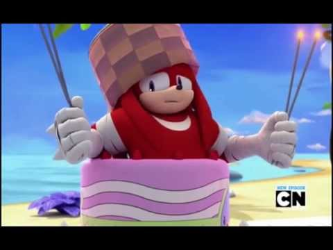 Sonic Boom - Knuckles in Cake