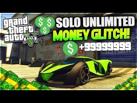 GTA 5 Online New SOLO UNLIMITED MONEY GLITCH Tutorial XBOX ONE PC PS4 GTA 5 ONLINE GLITCH Patch 1.42