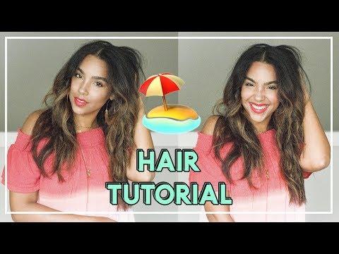Make Waves Hair Tutorial! Loose Waves on Natural Hair