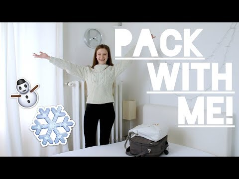 Whats in my winter travel Bag? Skiing vacation 2018!
