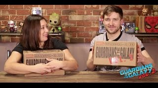 Marvel Collector Corps: Guardians of the Galaxy Vol. 2 Unboxing!