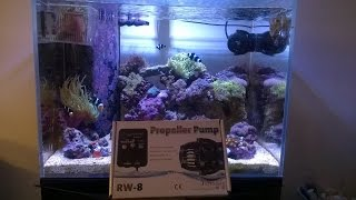 Reef Tank Update # 13 New Wave Maker And Supplies