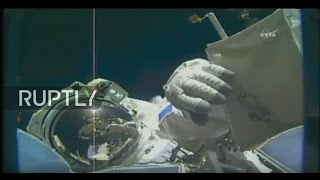 LIVE: Expedition 50 astronauts prepare ISS for future commercial dockings