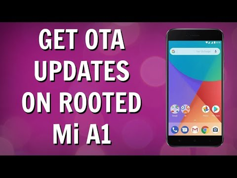 How TO Install OTA Updates On Rooted Mi A1[Uninstall Magisk]
