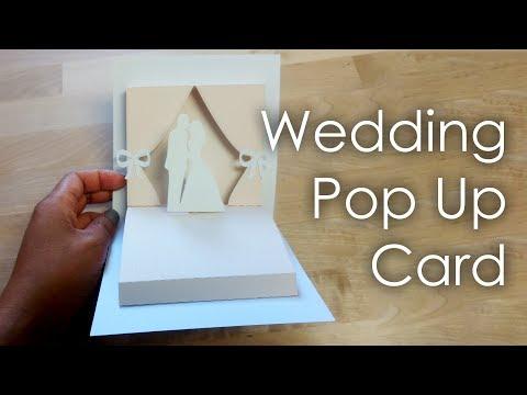 [Tutorial + Template] DIY Wedding Project Pop Up Card