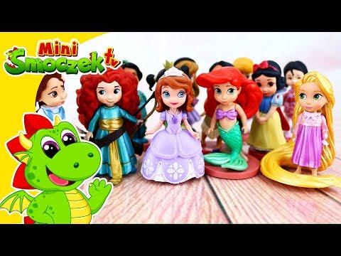 Jej Wysokość Zosia: Księżniczki Disneya i Czary Mary! Zabawki Bajki Dla Dzieci Po Polsku