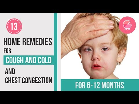 Treat Cough & Cold at Home | 13 Remedies for 6-12 months old babies
