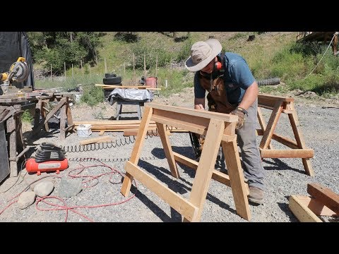 STUPID-EASY 30-Minute Sawhorse Build