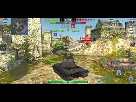 Катаем на Е-100 | Wot Blitz